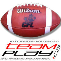 FLAG FOOTBALL - Spring 2015 in Waterloo - Registration NOW OPEN!