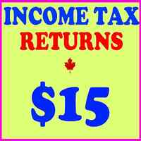 INCOME TAX ($15) & BOOKKEEPING ($99) BY PROFESSIONAL ACCOUNTANTS