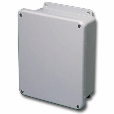 Stahlin Electrical Fiberglass Enclosurebox J806fhw 8x6x4 With Back Panel