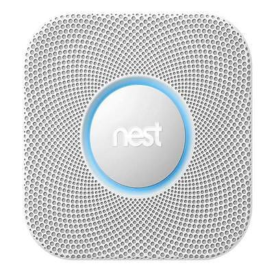 Nest Protect 2nd Generation - Smoke and Carbon Monoxide Alarm - Direct Wired ...