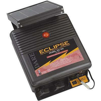Dare 110v Eclipse 17.5 X 17.5 X 6 Solar Electric Fencer Fence Charger Ds100