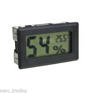 Digital Incubator Humidity Meter Fertile Egg Hatching Chicks Hygrometer Uk