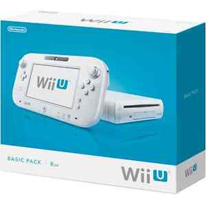 Looking for 8Gb White Wii U console complete in box