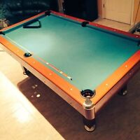 Pool table for cheap, barely used!!!!