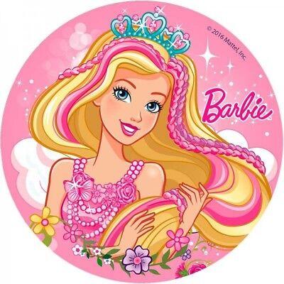 Tortenaufleger---Barbie--Geburtstag--Party----Fondant //Oblate ()