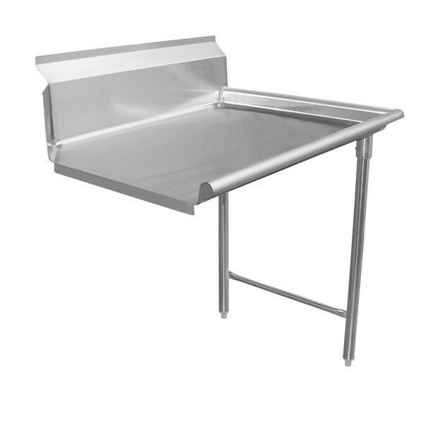 "Dishtable 30"" Clean - Right Side, Stainless Steel"
