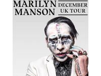 2 x Marilyn Manson sold out standing tickets SSE Arena Wembley 9th December