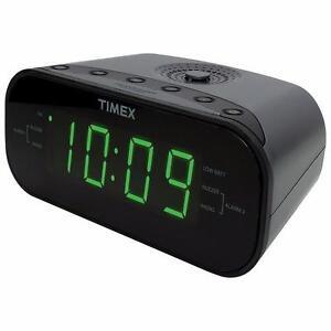 Timex T231GRYC  Clock Radio - Gunmetal