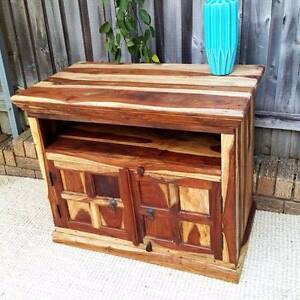 Small Solid Rosewood TV Entertainment Unit Cabinet Sideboard Coogee Eastern Suburbs Preview