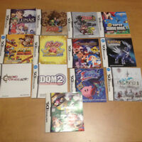 Lot 895 Manuel Instructions Manual Nintendo Wii PS2 PS3 Xbox DS
