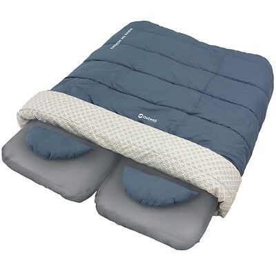 OUTWELL CARESS DOUBLE AIRBED, DUVET & SHEET SYSTEM CAMPING MAT SLEEPING BAG