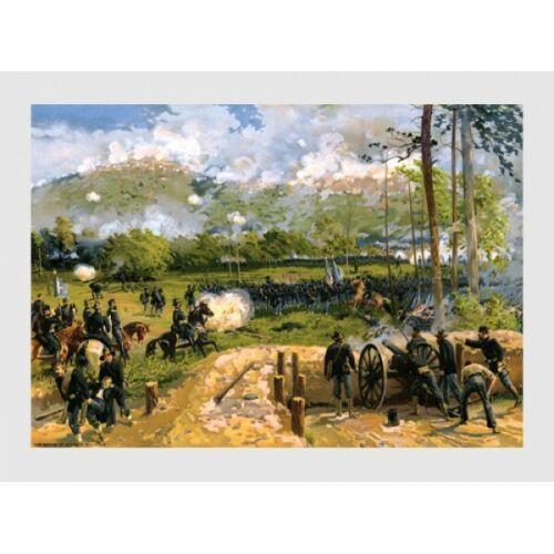"Two Battle of Kennesaw Mountain 18"" x 24"" Art Prints"