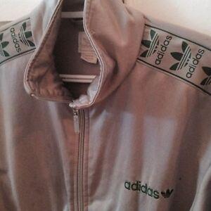 Adidas tracksuit jacket vintage
