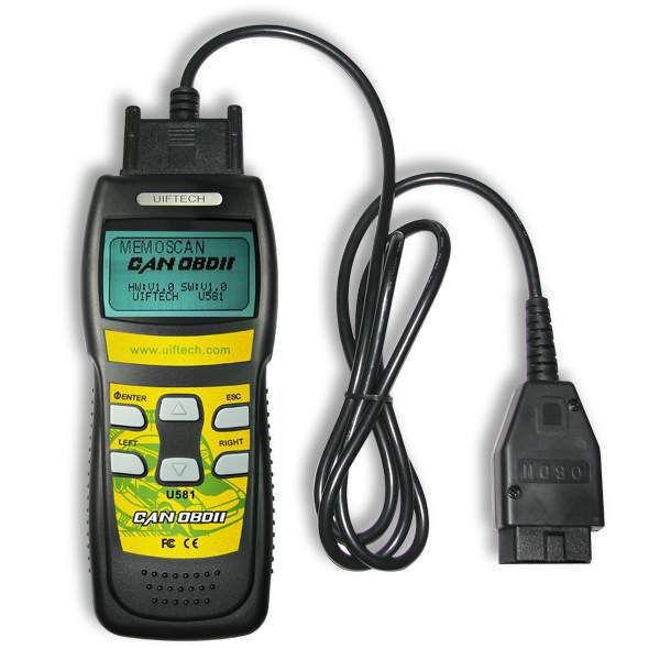 U581 Memoscan Car Diagnostic Scanner OBDII OBD2 EOBD Engine Fault Code Reader