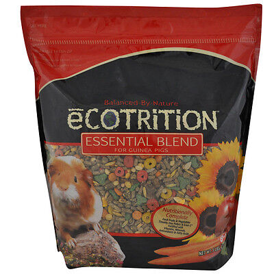 (eCOTRITION™ Essential Blend Guinea Pig Food net weight 5 lbs)