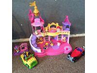 Fisher price Disney princess castle plus extras