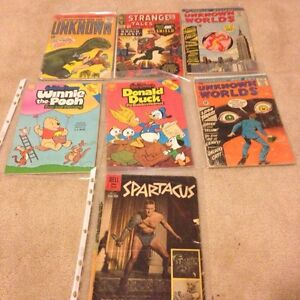 Vintage antique comic books - disney