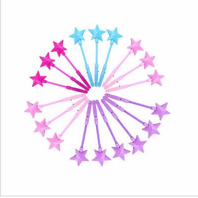 LED Magic Stars Zauberstab blinkende Leuchten Glow Sticks Party Konzert Xmas DIY ()