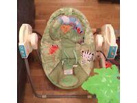 BABY ROCKER fisher price rainforest