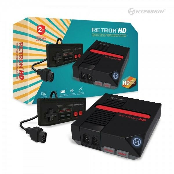 Hyperkin Retron 1 HD Gaming Console For NES, Black