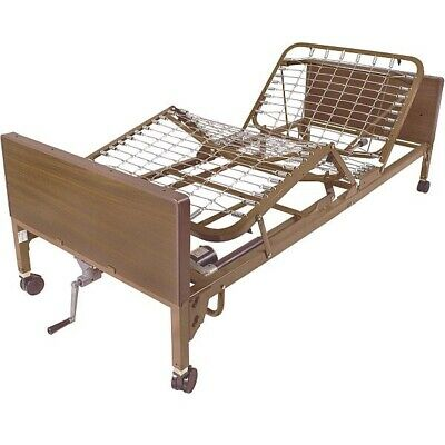 Drive Hospital Bed Dalton Semi Electric Hospital Bed With Mattress New