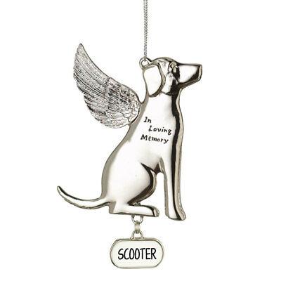 In Loving Memory Dog Ornament