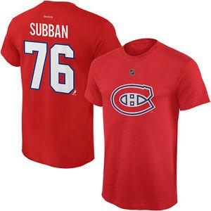 chandail canadiens PK Subban