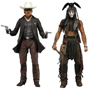 Lone Ranger And Tonto Action Figures