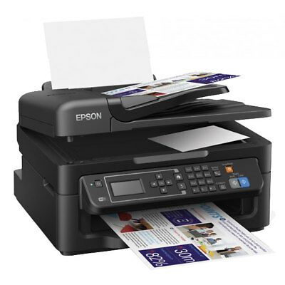 EPSON WorkForce WF-2630WF 4-in-1 Multifunktionsdrucker Kopierer Scanner Fax WLAN