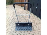 Snow Plough - snow shovel with wheels