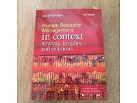 Human Resources management in context: Strategy, insights and solutions - 3rd edition