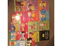 The little princess and Charlie and Lola books