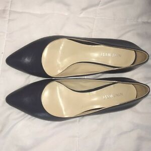 Nine West Navy Kitten Heel