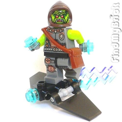 BM031 Lego Spiderman CUSTOM Green Goblin Custom Minifigure ...
