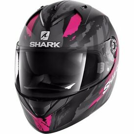 Shark Ridill Oxyd - Matt Black / Pink / Anthracite