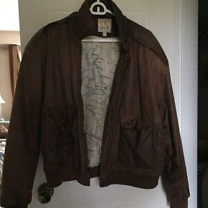 Buckskin Bomber  jacket