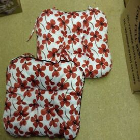 2 X poppy cushion pads
