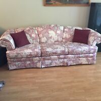 Moving sale*** 2couches, 2 recliners, table and hutch