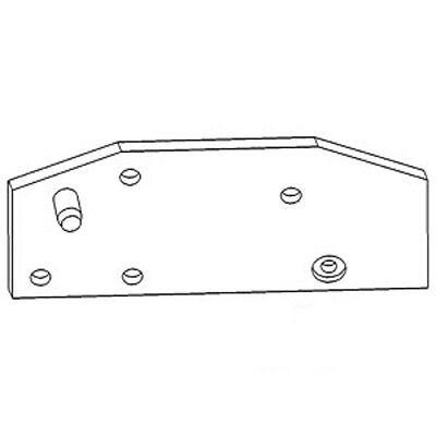 At20168 Lh Sway Block Plate For John Deere 2750 2755 2850 2240 2450 2250 2555