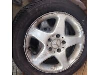 3 off Mercedes alloys