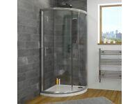 Brand New 900mm single door quadrant shower enclosure