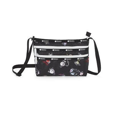 LeSportsac BTS Collection Quinn Bag Crossbody in BT21 Black NWT