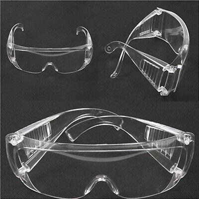 3x Safety Glasses Goggles Anti-fog Wind Dust Protective Eyewear Uv Lab Chemistry