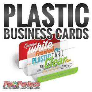 Plastic Business Cards at www.pixoperfect.com - BEST PRICE IN TOWN with FREE SHIPPING!