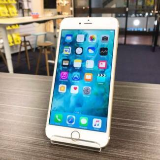 Pre loved iPhone 6S Plus gold 128G UNLOCKED au stock + INVOICE