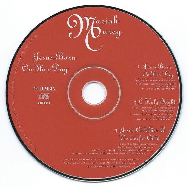 Mariah Carey Christmas Song Jesus Born On This Day - Mariah Carey Net Worth