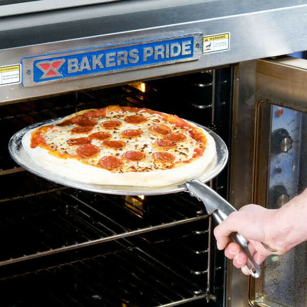 """7.5"""" Steel Pizza Pan Gripper For 1"""" Shallow Pans Free Shippi"""