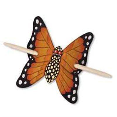 Butterfly Barrette Kit Tandy Leather Item (Barrette Kit)
