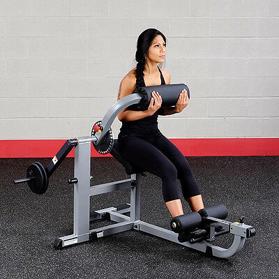Body-Solid GCAB360 Abdominal & Lower Back Weighted Exercise Fitness Machine