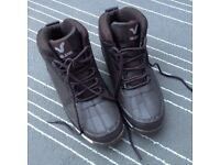 Voi Jean Brown Leather Boots